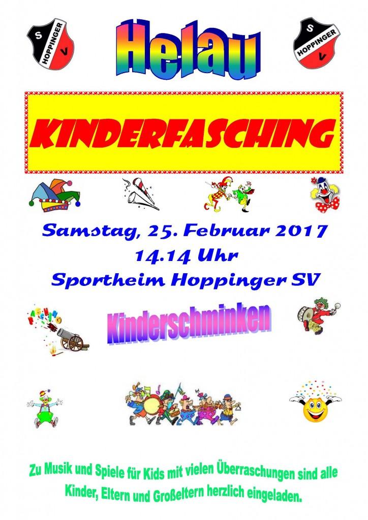 Kinderfasching 2017